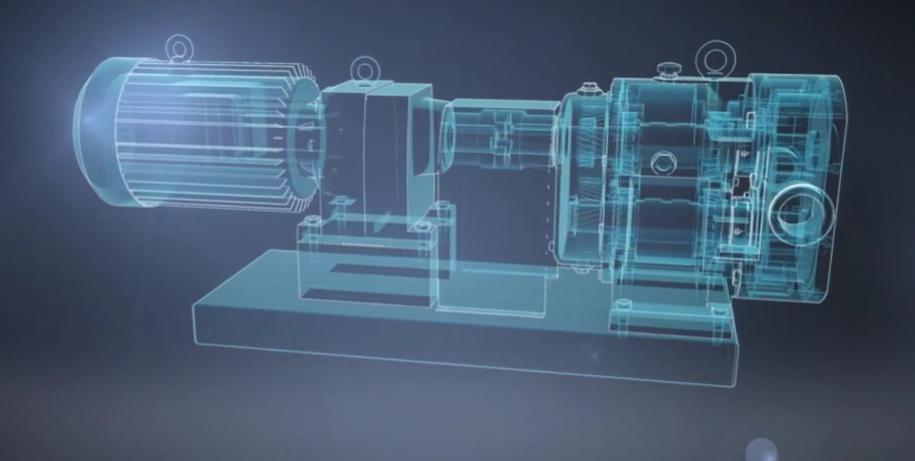 凸轮式转子泵