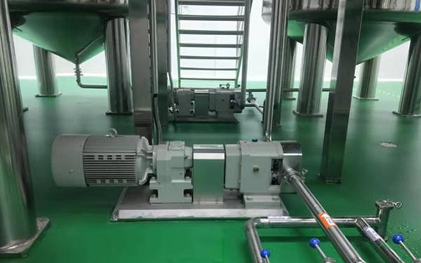转子泵在牙膏生产过程中的应用