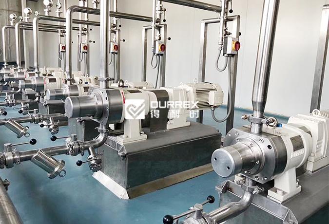转子泵在日用化工行业<br>应用案例